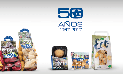 Aguilar Potatoes, 50 years offering you the best