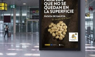 Spain: Lemon potato touted on Madrid metro 100 information murals or mupis have been placed at major stations on the transport network