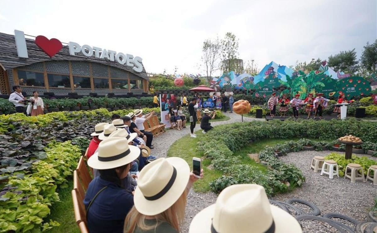 International Potato Center and Peru Joint Honorary Day theme event held at Beijing horticultural