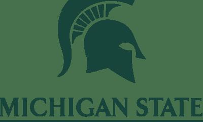msu michigan state university arm emblem